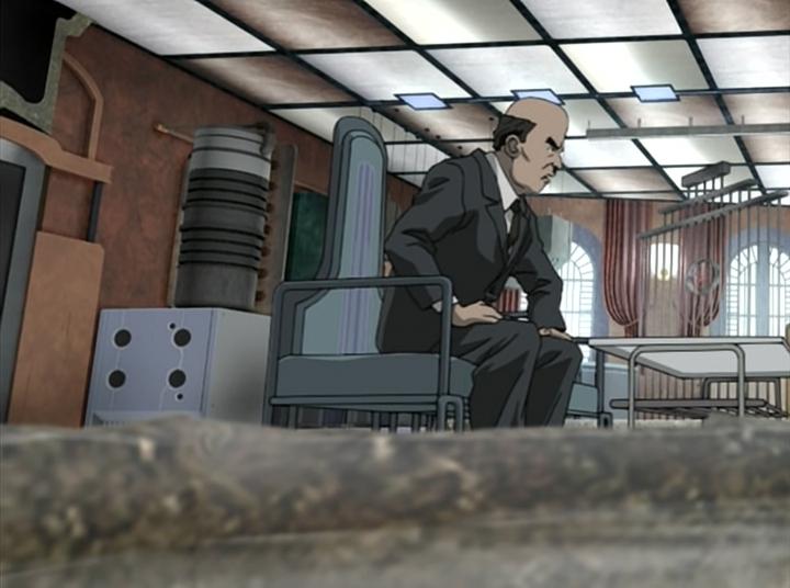 Скриншот *Робин - охотница на ведьм / Witch Hunter Robin [Сезон 1, Серия 1-26 из 26] 2002*