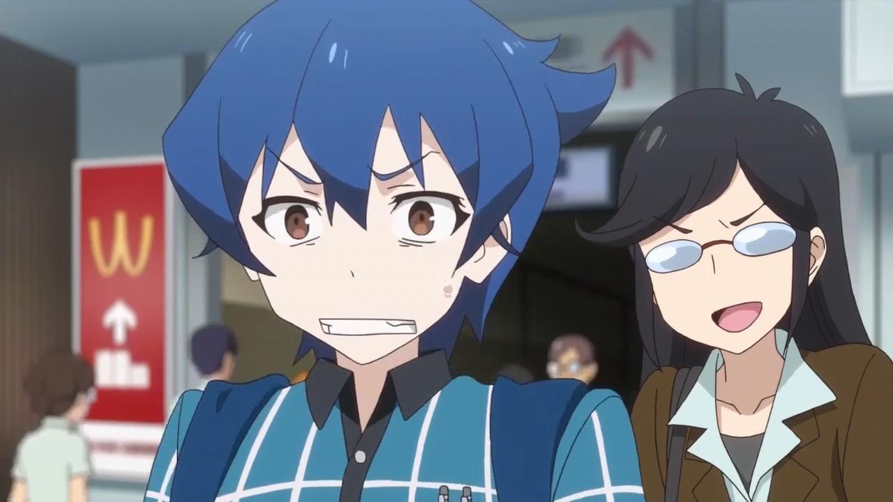Скриншот *Падение Акибы / Akiba's Trip The Animation [Сезон 1, Серия 1-13 из 13] 2017*