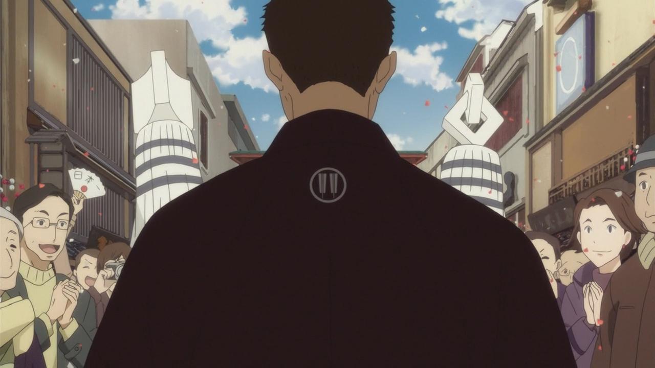 Скриншот *Сквозь эпохи: Узы ракуго / Shouwa Genroku Rakugo Shinjuu: Sukeroku Futatabi Hen [Сезон 2, Серия 1-12 из 12] 2017*