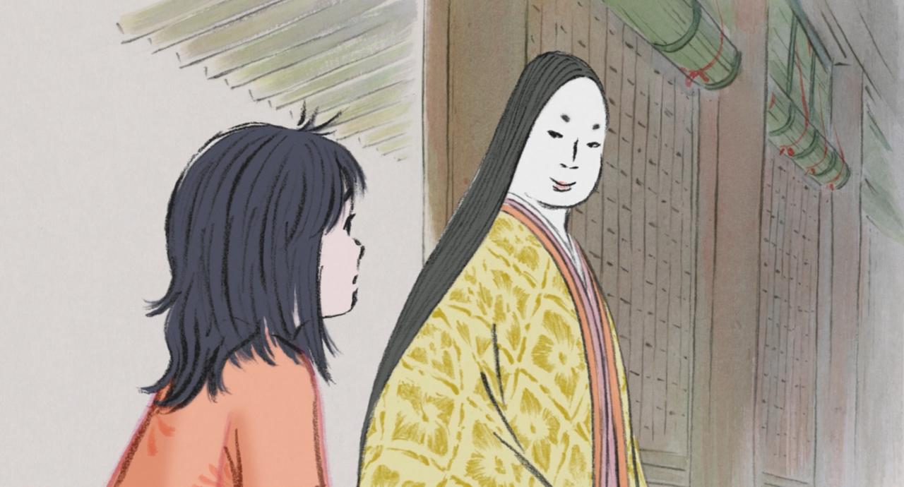 Скриншот *Сказание о принцессе Кагуя / Kaguya Hime no Monogatari (2013)*