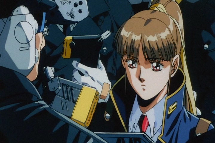 Скриншот *Молчаливый Мобиус / Silent Mobius: The Motion Picture [Movie] (1991)*
