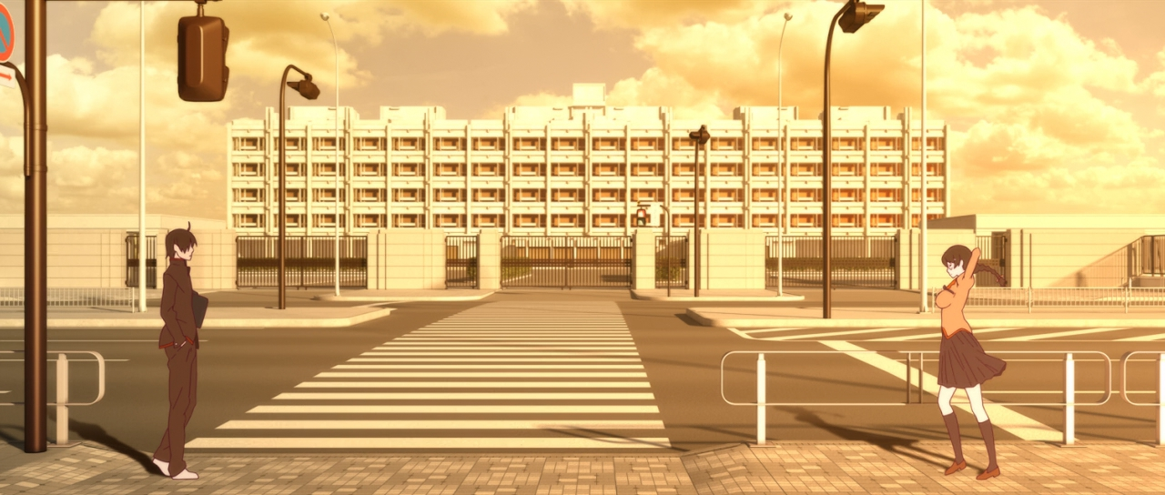 Скриншот *Истории ран / Kizumonogatari [Серия 1-3 из 3] 2016, 2017*