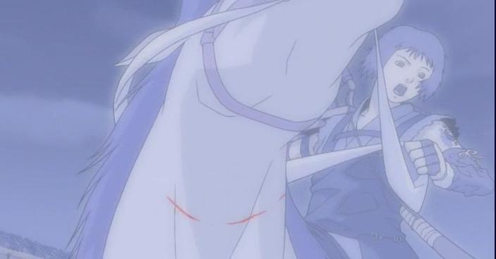 Скриншот *Кайдомару / Kaidoumaru (2001) Azazel, Jade (OVA)*