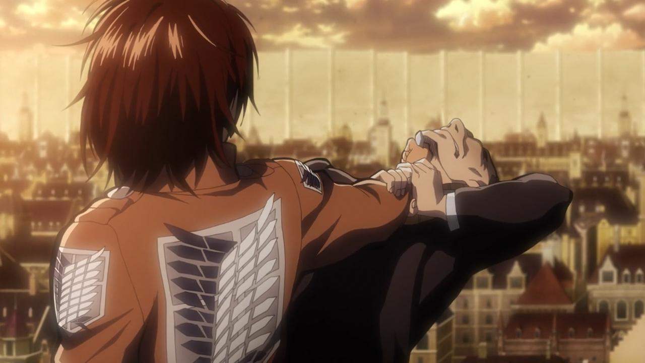 Скриншот *Вторжение Титанов 2 / Shingeki no Kyojin 2 [Сезон 2, Серия 1-12 из 12] 2017*