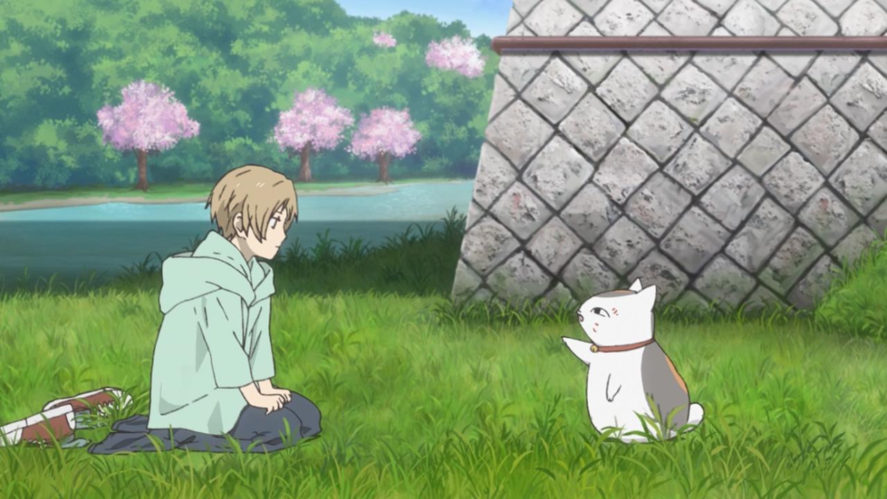 Скриншот *Тетрадь дружбы Нацумэ / Natsume Yuujinchou Roku [Сезон 6, Серия 1-11 из 11] 2017*