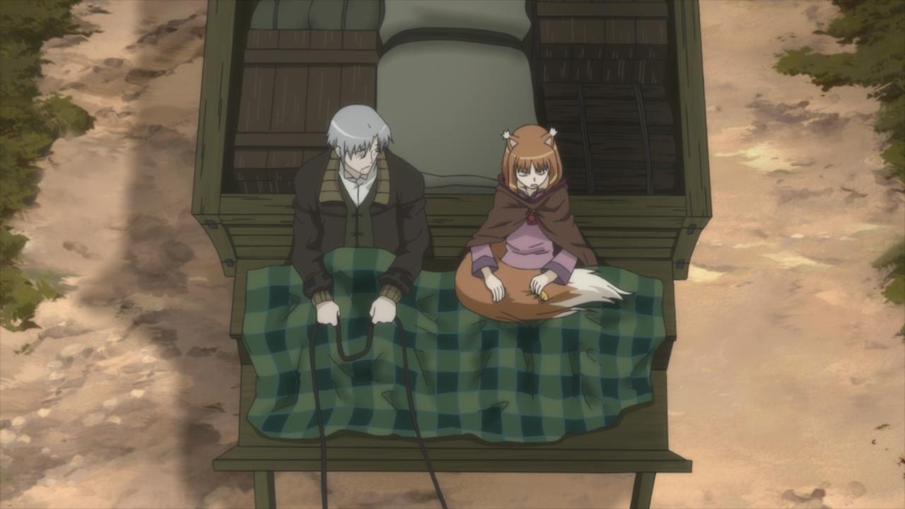 Скриншот *Волчица и пряности / Spice and Wolf II [Сезон 2, Серия 1-12 из 12 + OVA] 2009*