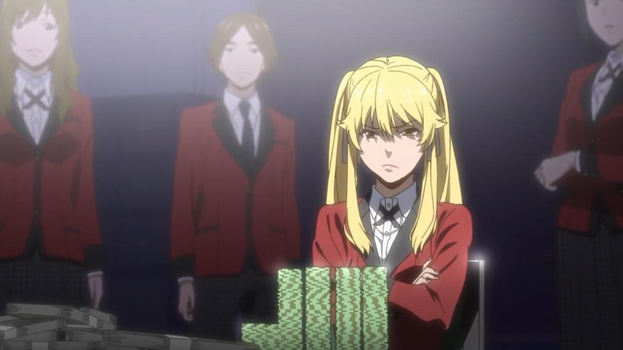 Скриншот *Безумный азарт / Kakegurui [Сезон 1, Серия 1-12 из 12] 2017*