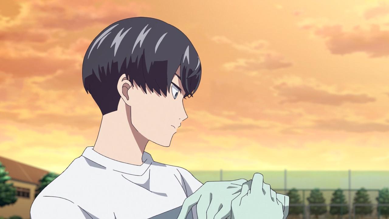 Скриншот *Чистюля Аояма / Keppeki Danshi! Aoyama-kun [Сезон 1, Серия 1-12 из 12] 2017*