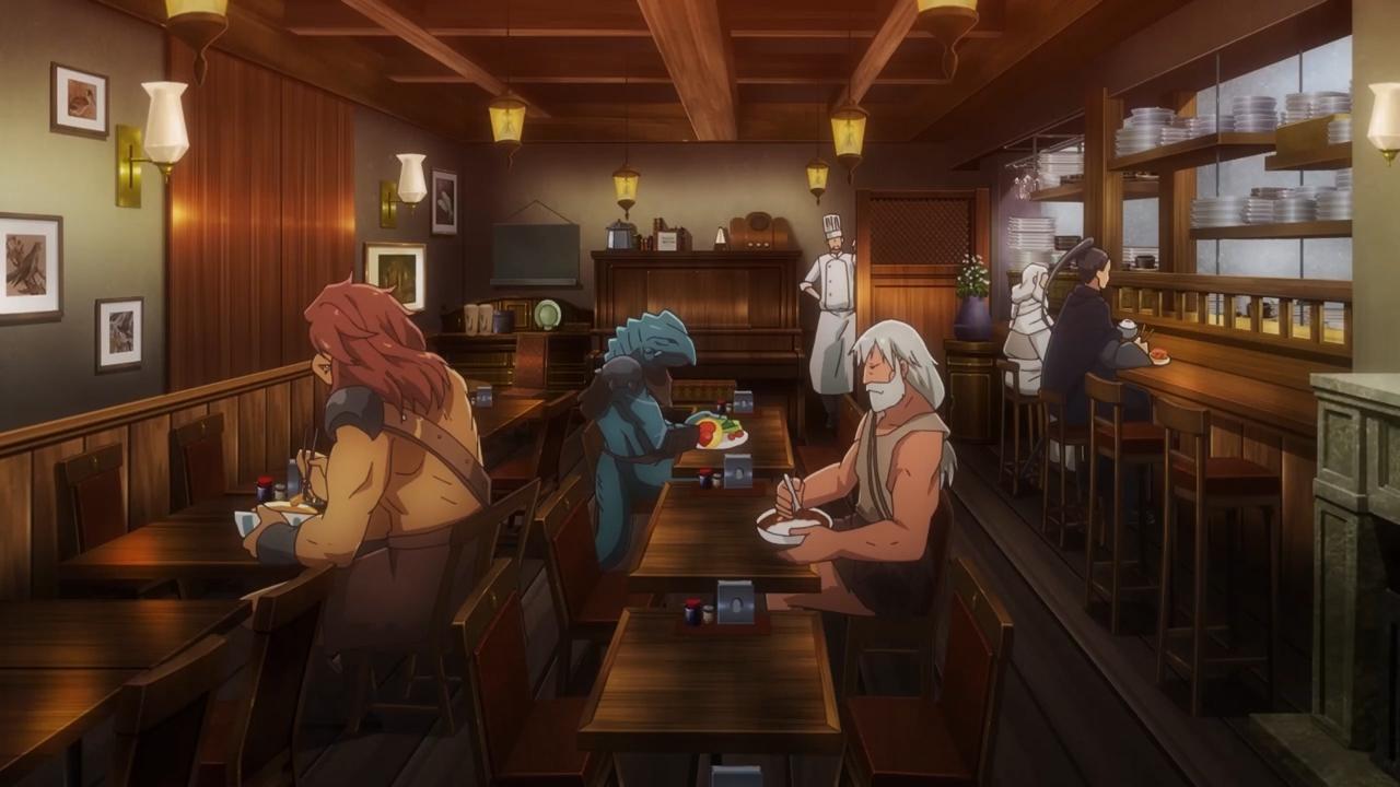 Скриншот *Ресторан из другого мира / Isekai Shokudou [Сезон 1, Серия 1-12 из 12] 2017*