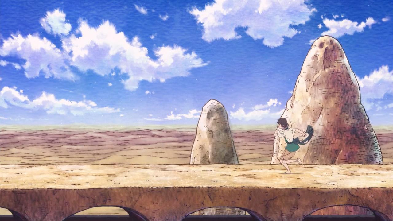 Скриншот *Дети кита поющие среди песков / Kujira no Kora wa Sajou ni Utau [Сезон 1, Серия 1-12 из 12] 2017*