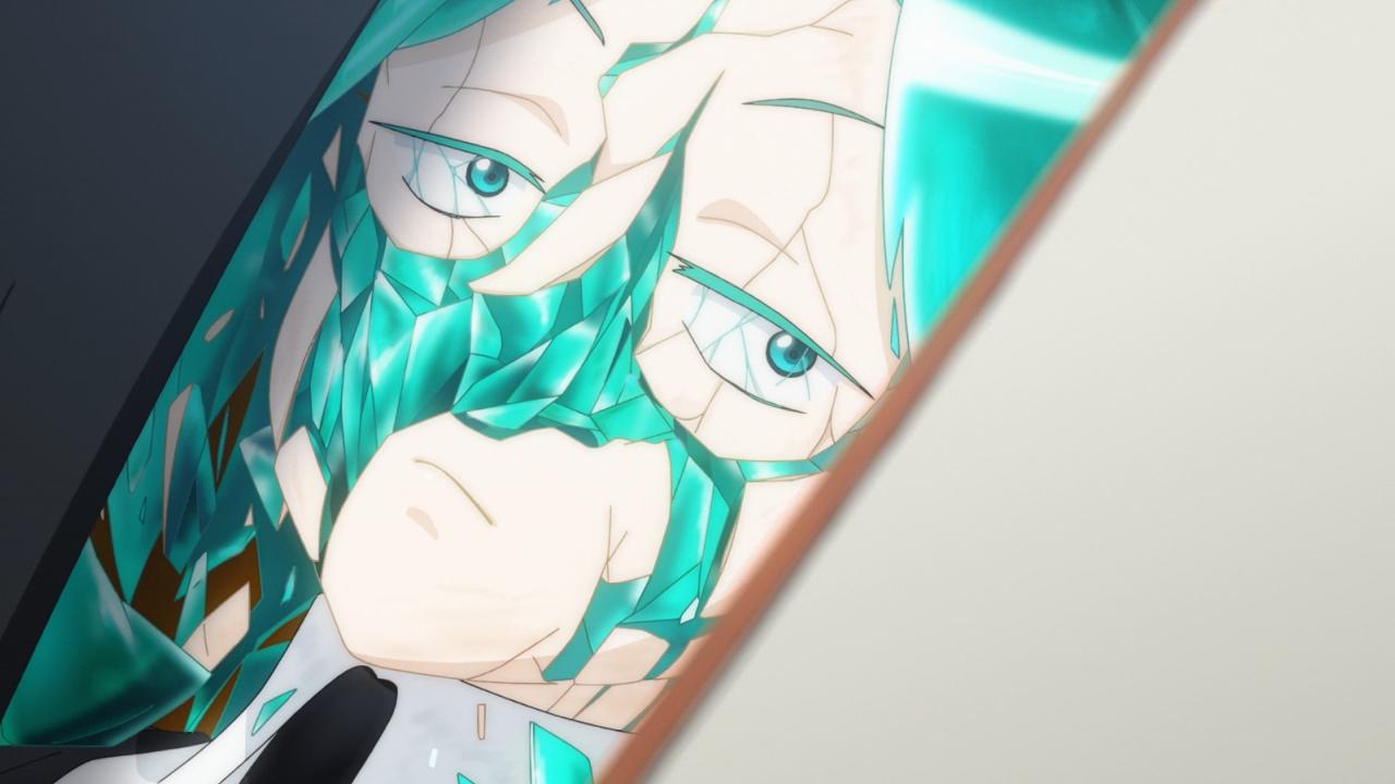 Скриншот *Страна самоцветов / Houseki no Kuni [Сезон 1, Серия 1-12 из 12] 2017*