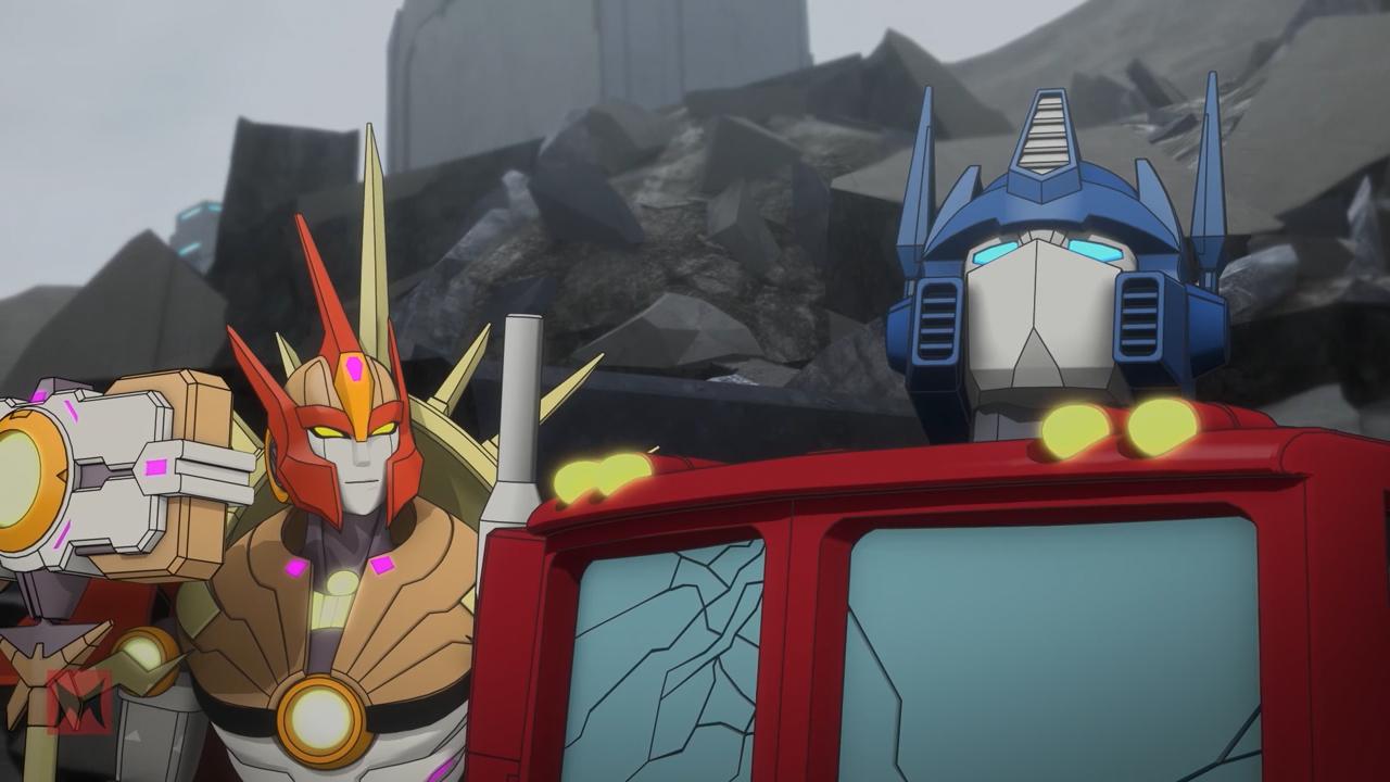 Скриншот *Трансформеры: Возвращение титанов / Transformers: Titans Return [Серия 1-10 из 10] 2017*