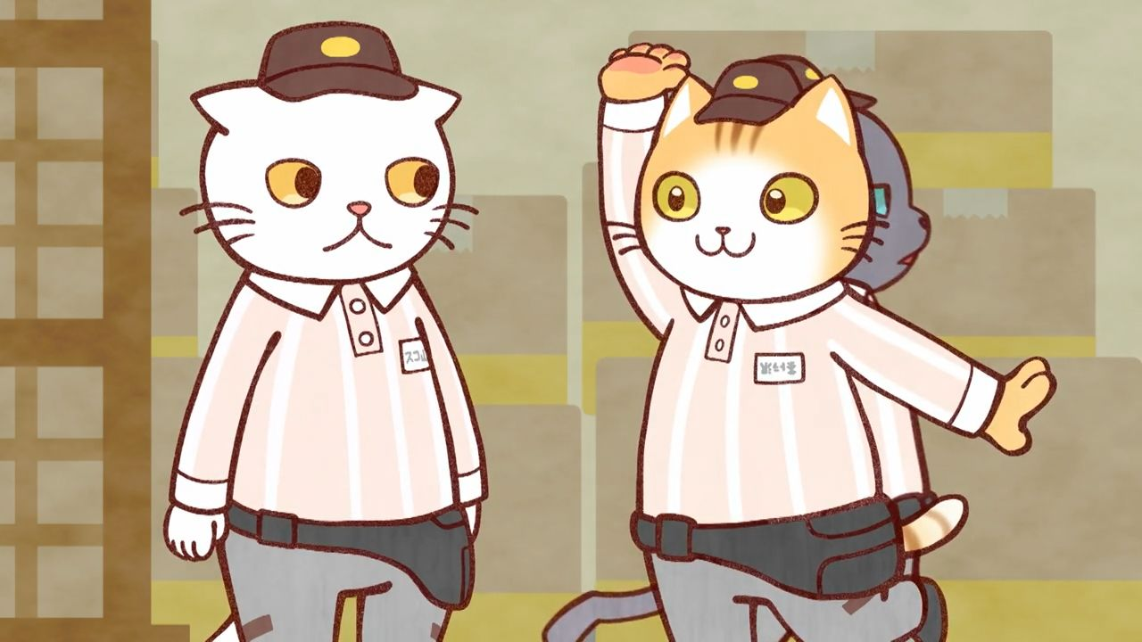 Скриншот *Батрачащие кореша / Hataraku Onii-san! [Сезон 1, Серия 1-12 из 13] 2018*