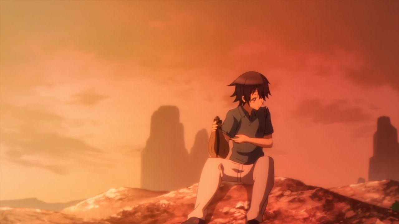Скриншот *Рапсодия о долгом странствии по иному миру / Death March kara Hajimaru Isekai Kyousoukyoku [Сезон 1, Серия 1-12 из 12] 2018*