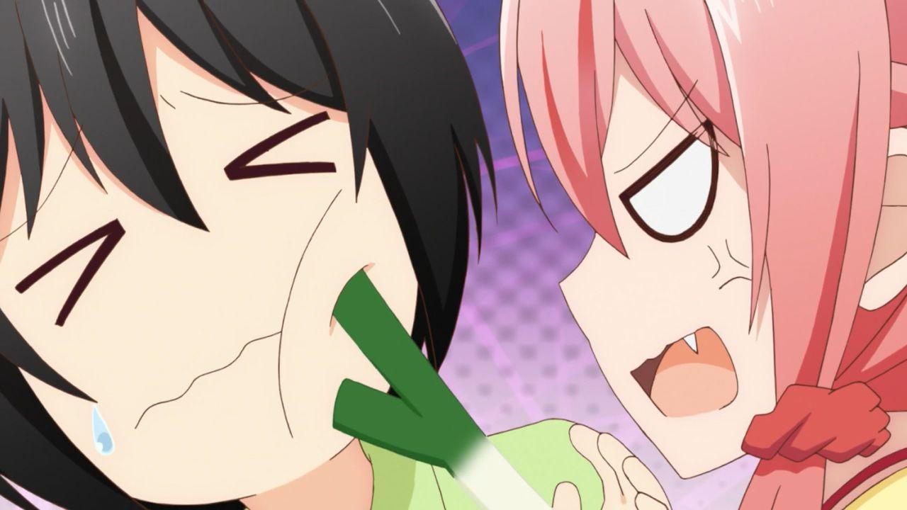 Скриншот *Любовный треугольник / Tachibana-kan to Lie Angle [Сезон 1, Серия 1-12 из 12] 2018*