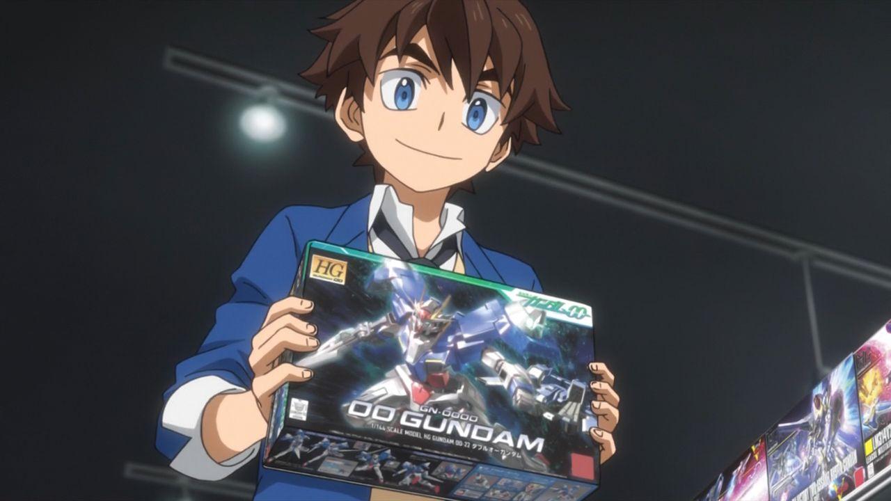 Скриншот *Битвы Ганпла Онлайн / Gundam Build Divers [Сезон 1, Серия 1-6 из 13+] 2018*