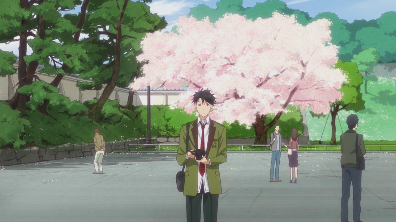 Скриншот *Тада-кун ещё никогда не влюблялся / Tada-kun wa Koi wo Shinai [Сезон 1, Серия 1-13 из 13] 2018*