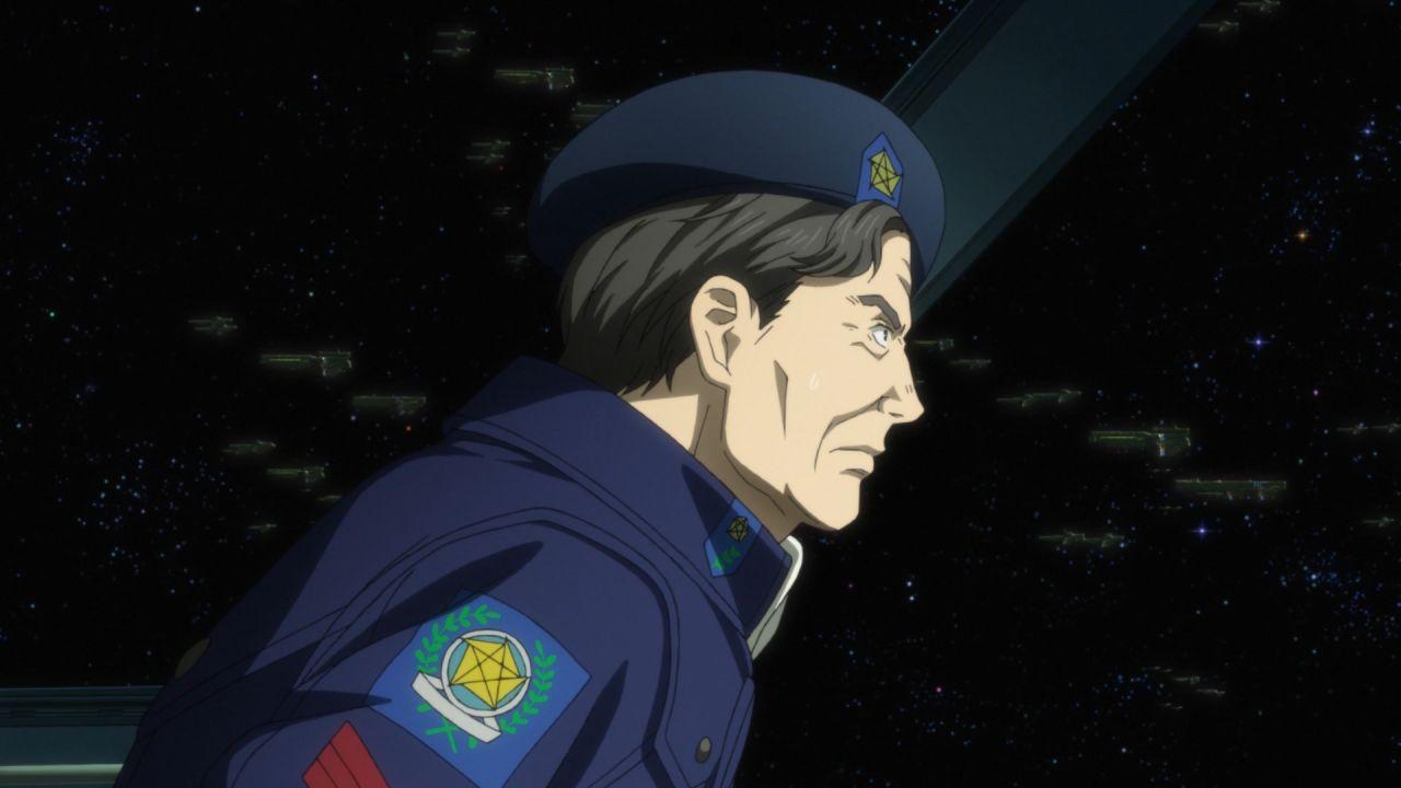 Скриншот *Легенда о героях Галактики / Ginga Eiyuu Densetsu: Die Neue These - Kaikou [Сезон 1, Серия 1-12 из 12] 2018*
