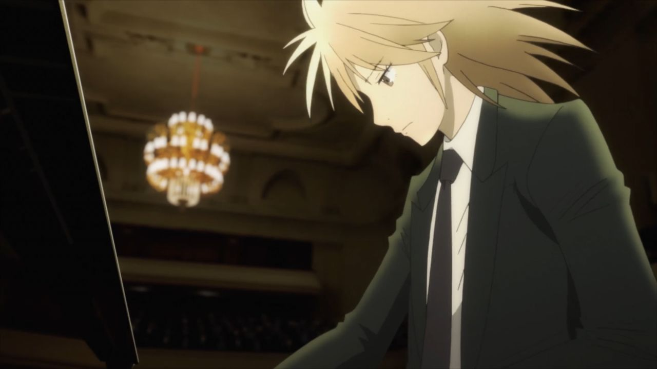 Скриншот *Лесной рояль / Рояль в лесу / Piano no Mori [Сезон 1, Серия 1-12 из 12] 2018*
