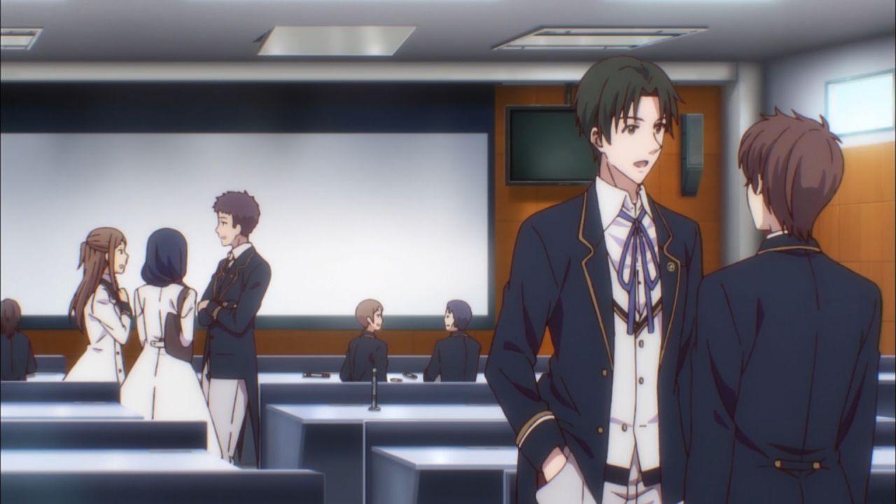 Скриншот *Дворецкие: История тысячи столетий / Butlers: Chitose Momotose Monogatari [Сезон 1, Серия 1-12 из 12] 2018*
