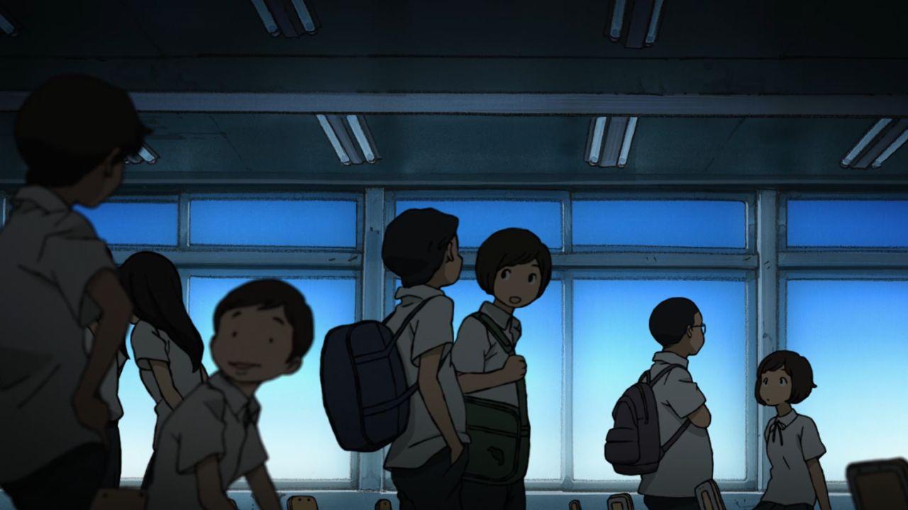 Скриншот *Хисонэ и Масо / Hisone to Maso-tan [Сезон 1, Серия 1-12 из 12] 2018*