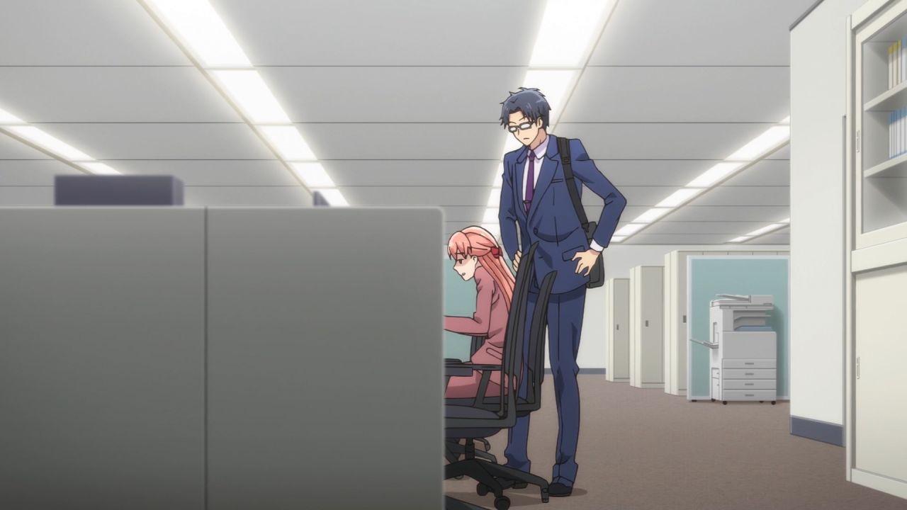 Скриншот *Любовь и Отаку / Wotaku ni Koi wa Muzukashii [Сезон 1, Серия 1-11 из 11] 2018*