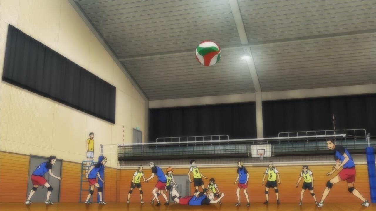 Скриншот *Волейбол!! / Haikyuu!! [Сезон 2, Серия 1-25 из 25] 2015*