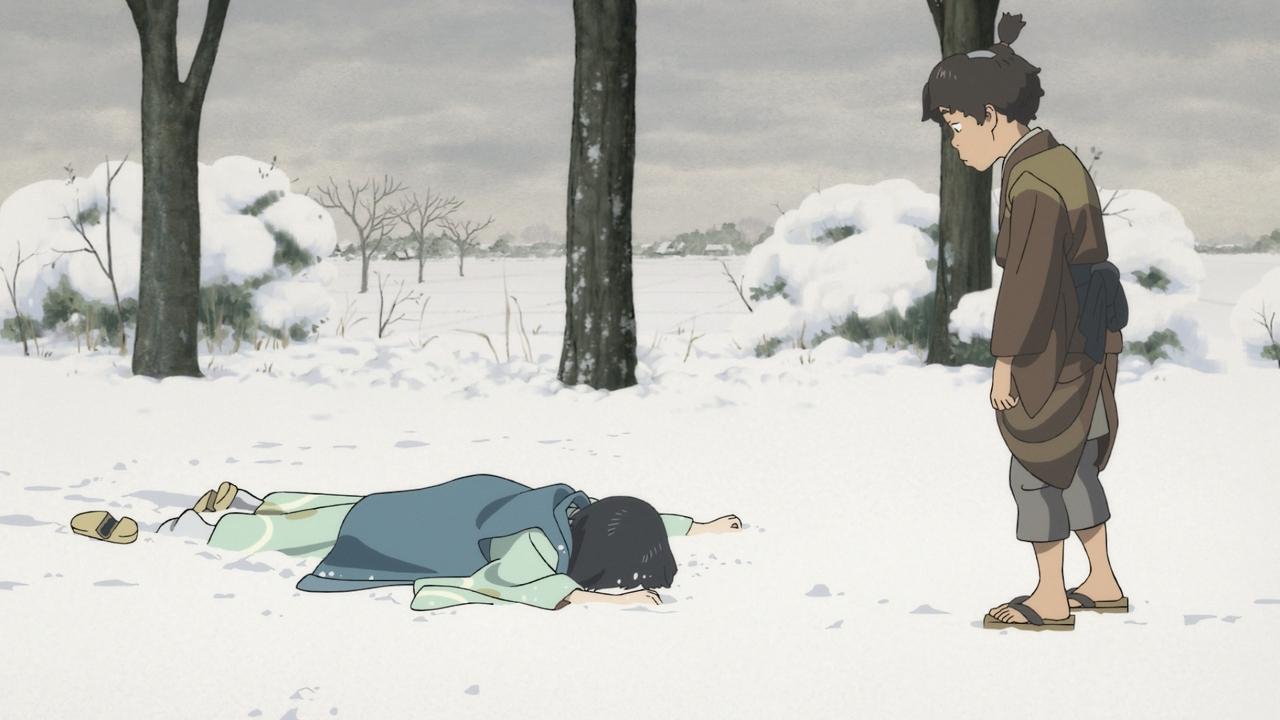 Скриншот *Госпожа Хокусай / Sarusuberi: Miss Hokusai (2015)*