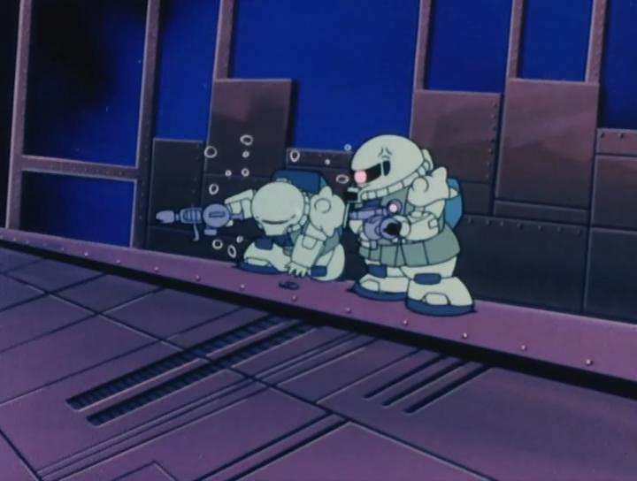 Скриншот *Мобильный воин СД ГАНДАМ 1 / Mobile Suit SD Gundam Mk. I [02 из 02 + SP] 1988*