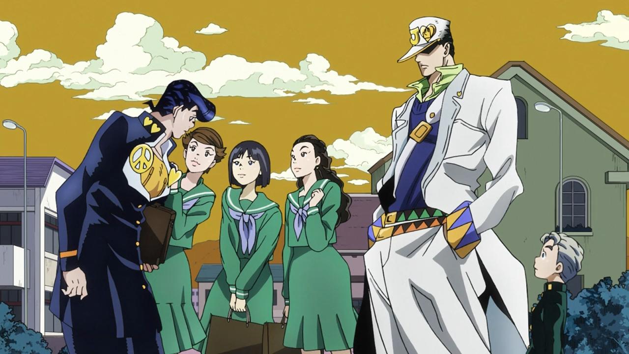 JoJo no Kimyou na Bouken: Diamond wa Kudakenai (Season 4) |Невероятные приключения Джоджо (Сезон 4)