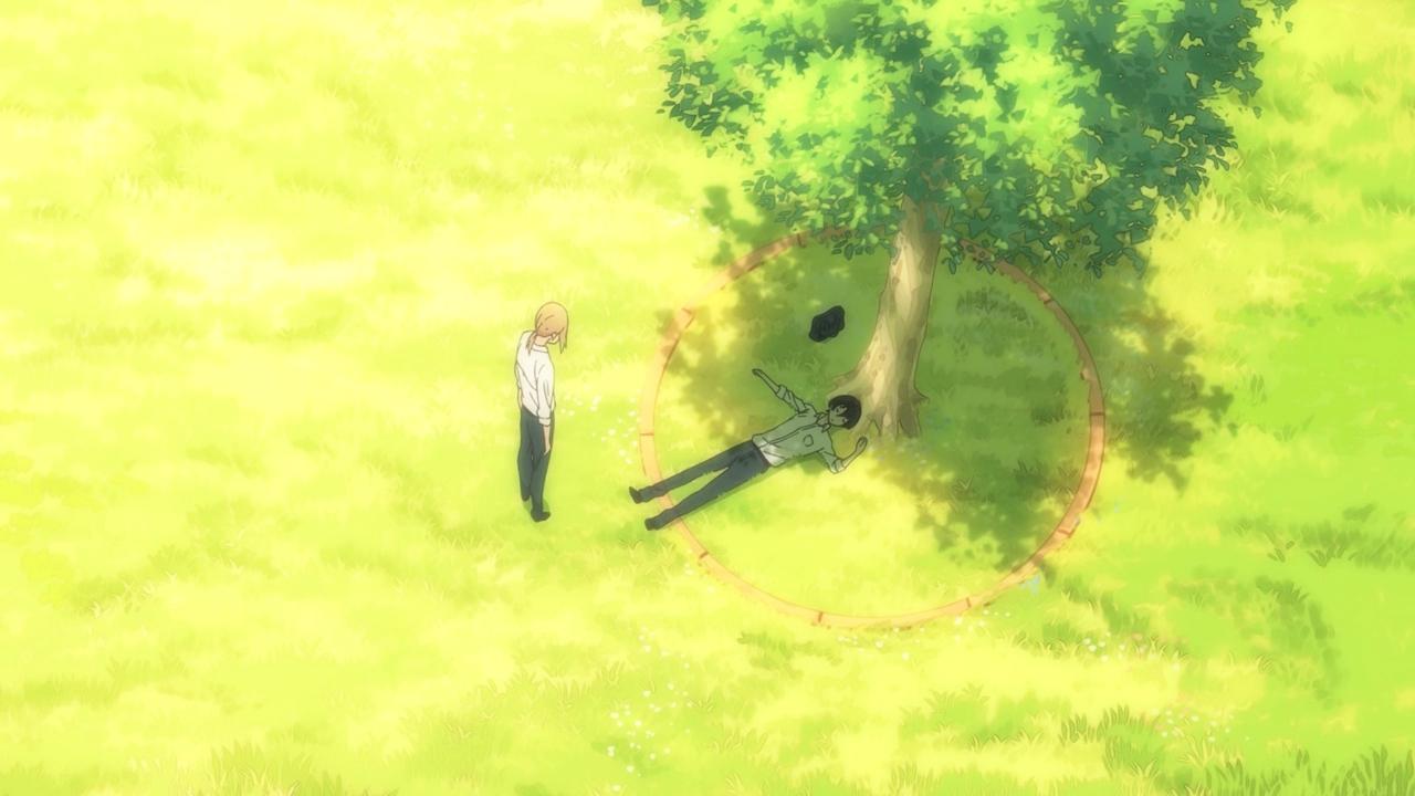 Аниме всегда вялый танака-кун / tanaka-kun wa itsumo kedaruge.