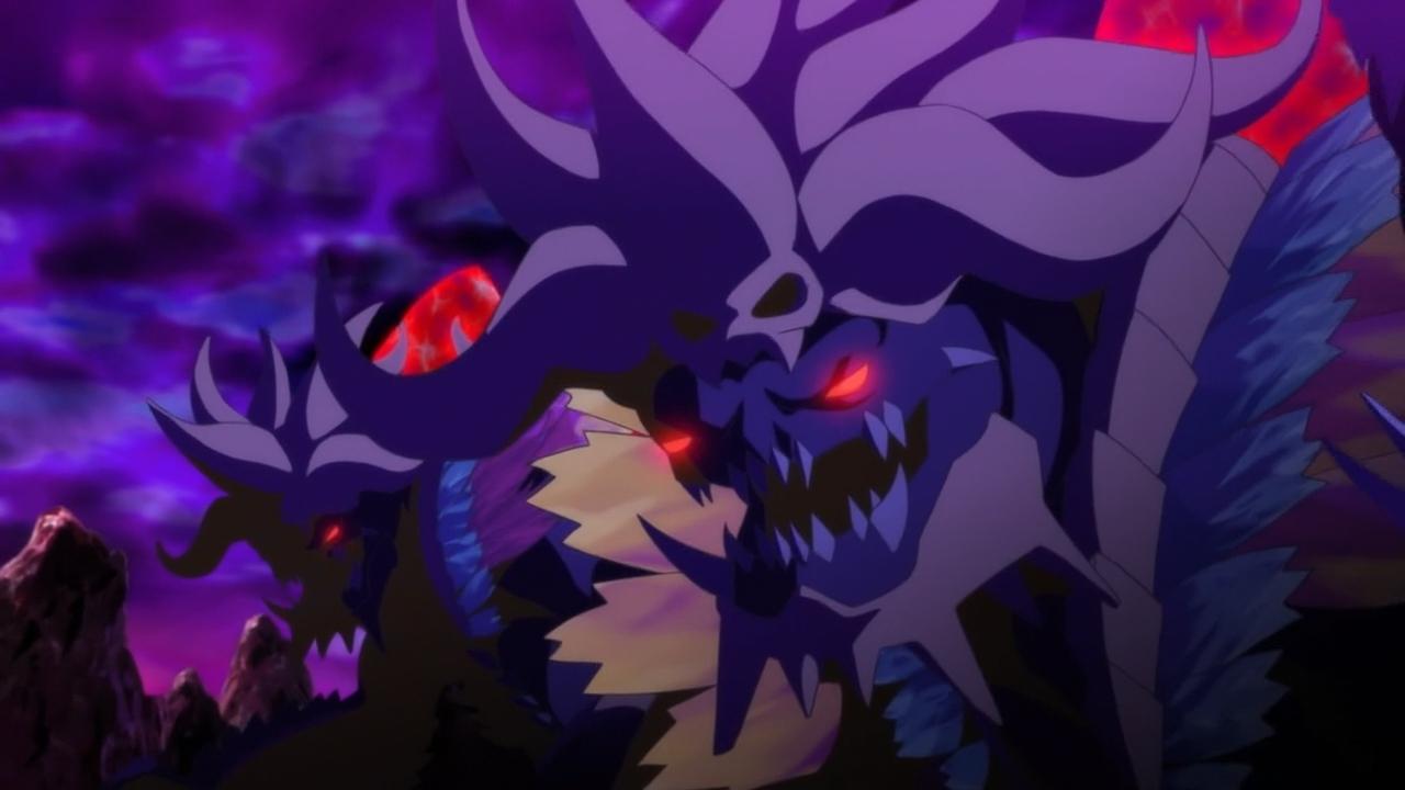 Скриншот *Охотники на демонов / OniGiri [Сезон 1, Серия 1-13 из 13] 2016*