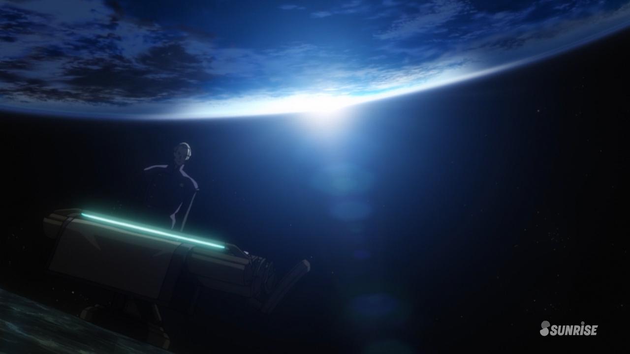 Скриншот *Мобильный доспех Гандам Единорог RE:0096 / Mobile Suit Gundam Unicorn RE:0096 [Серия 1-22 из 22] 2016*