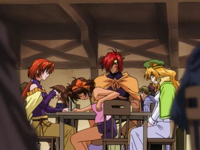 Скриншот *Воин-волшебник Луи / Mahou Senshi Louie [Сезон 1, Серия 1-24 из 24] 2001*