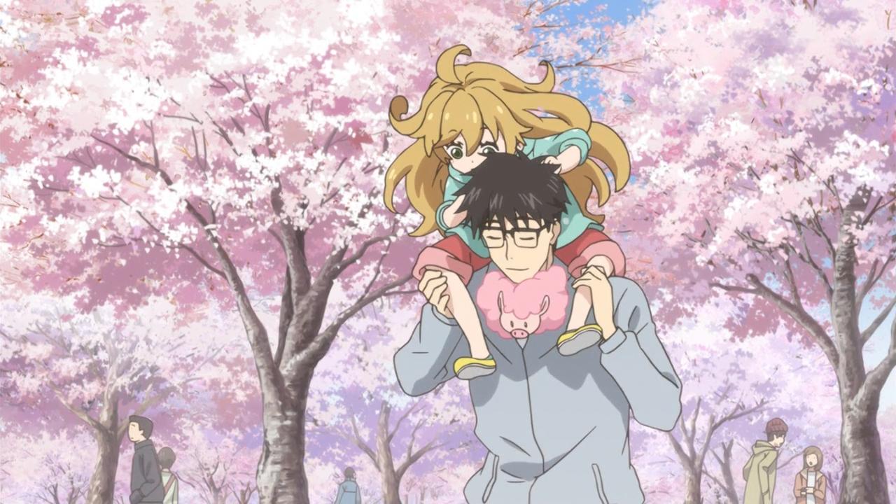 Скриншот *Дуэт и вспышка молнии / Amaama to Inazuma [Сезон 1, Серия 1-12 из 12] 2016*