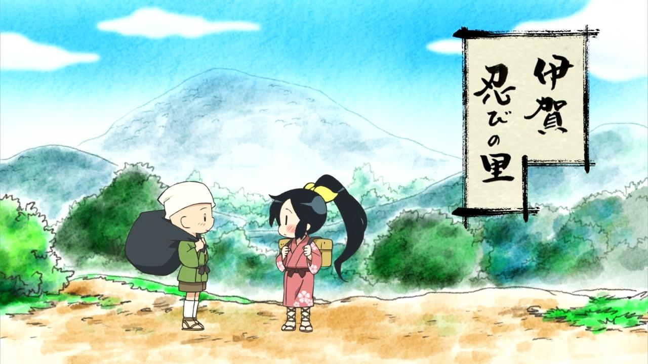 Скриншот *Шиноби Нобунаги / Nobunaga no Shinobi [Сезон 1, Серия 1-26 из 26 + OVA] 2016*