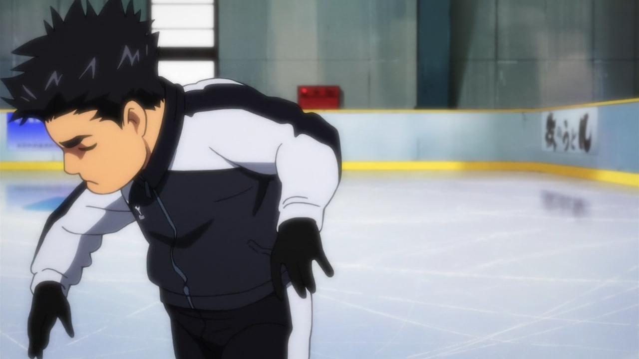 Скриншот *Юри на льду / Yuri on Ice [Сезон 1, Серия 1-12 из 12] 2016*